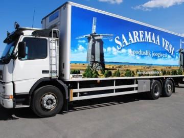 Saaremaa vesi veoauto