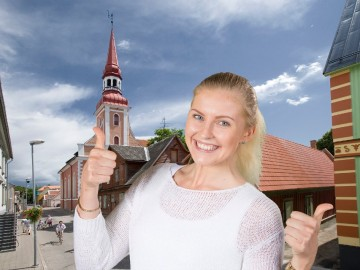 Green screen fotolahendus Eesti Haigekassa konverentsil