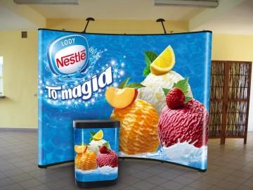 Nestle pop-up Display